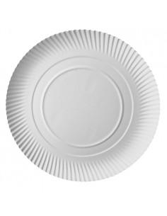 Bandejas tarta cartón blanco redondas Ø 34 cm Pure