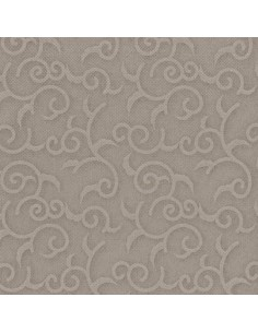 50 Servilletas 40 x 40 cm Gris Royal Collection Casali
