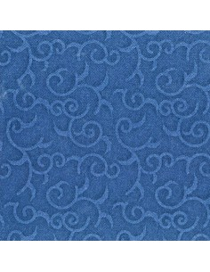 Servilletas papel decoradas color azul 40 x 40 cm Royal Collection Casali