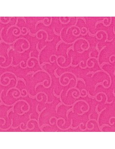Servilletas papel decoradas color fucsia 40 x 40 cm Royal Collection Casali