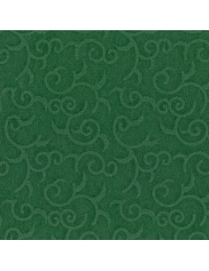 Servilletas papel decoradas color verde 40 x 40 cm Royal Collection Casali
