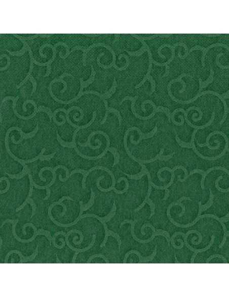 Servilletas papel decoradas color verde 40 x 40 cm Royal Collection Casali