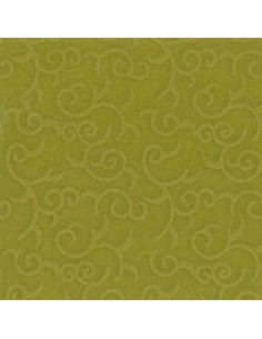 Servilletas papel decoradas color verde oliva 40 x 40 cm Royal Collection Casali