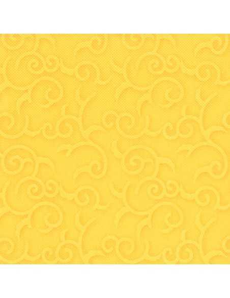 50 Servilletas 40 x 40 cm Amarilo Royal Collection Casali