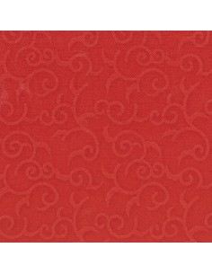 Servilletas papel decoradas rojo 40 x 40 cm Royal Collection Casali