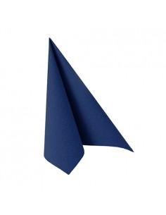 20 Servilletas 25 x 25 cm Azul Oscuro Royal Collection