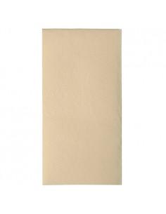 Servilletas de papel aspecto tela color champan 40 x 40 cm Royal Collection 1/8