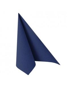 Servilletas papel azul oscuro Royal Collection 48 x 48 cm