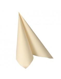 Servilletas papel champan Royal Collection 48 x 48 cm