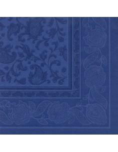 Servilletas papel decoradas Royal Collection azul 40 x 40 cm Ornaments
