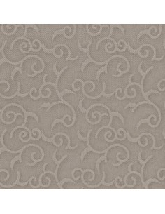 50 Servilletas 48 x 48 cm Royal Collection Color Gris Casali