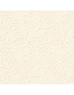 Servilletas papel decoradas color champan 40 x 40 cm Royal Collection Casali
