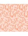 50 Servilletas 40 x 40 cm Color Naranja Damascato Royal Collection