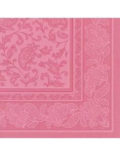 20 Servilletas 40 x 40 cm Color Rosa Ornaments Royal Collection
