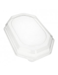 Tapas plástico para bandeja color transparente 45 x 31,5 cm